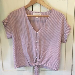 NWOT CLOTH&STONE crop top